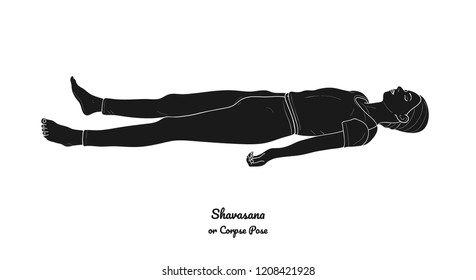 the corpse pose yoga