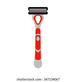 Shaving razor.Vector illustration