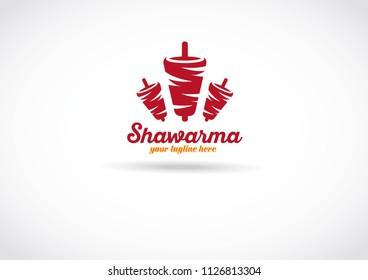 shawarma logo designe