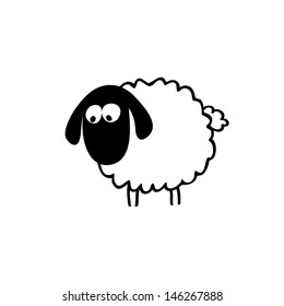 Cartoon Sheep Images, Stock Photos & Vectors | Shutterstock