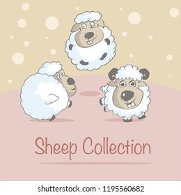 SHEEP COLLECTION CARTOON