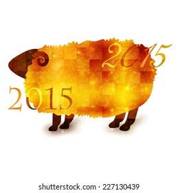 Sheep greeting cards 2015