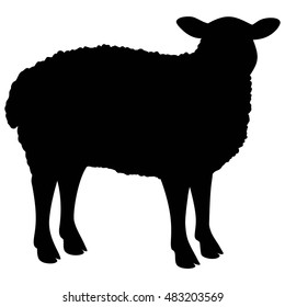 sheep silhouette images  stock photos   vectors shutterstock horse vector art free horse vector art cnc router