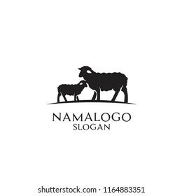 sheep logo icon design