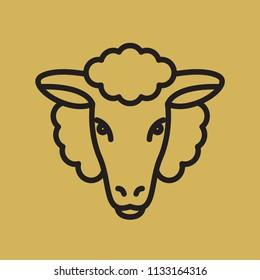 Sheep Monoline Logo
