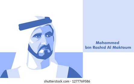 Sheikh Mohammed bin Rashid Al Maktoum is the Vice President and Prime Minister of the United Arab Emirates.