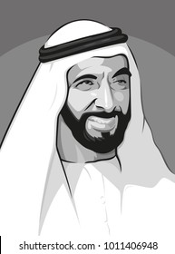Sheikh Zayed  Founder of United Arab Emirates ( UAE )