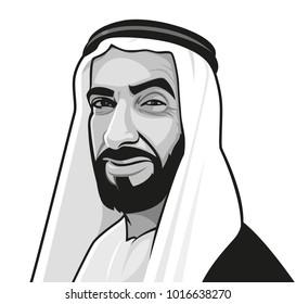Sheikh Zayed  Founder of United Arab Emirates ( UAE )