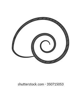 Shell Icon.