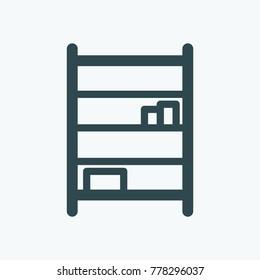 Shelving vector icon