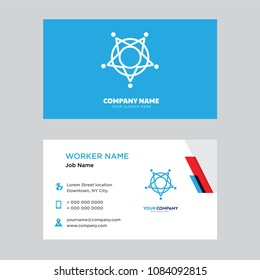 Sheriff business card design template, Visiting for your company, Modern horizontal identity Card Vector
