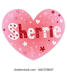 Sherrie - feminine given name