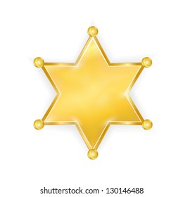 sherrif star badge
