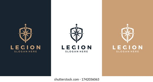 Shield / armor / sword and star