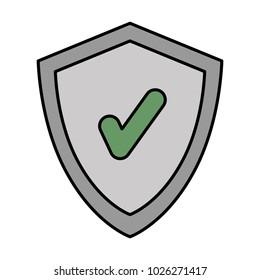 shield with chek symbol
