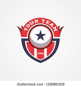 Shield Crest Logo Template