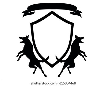 shield and dogs