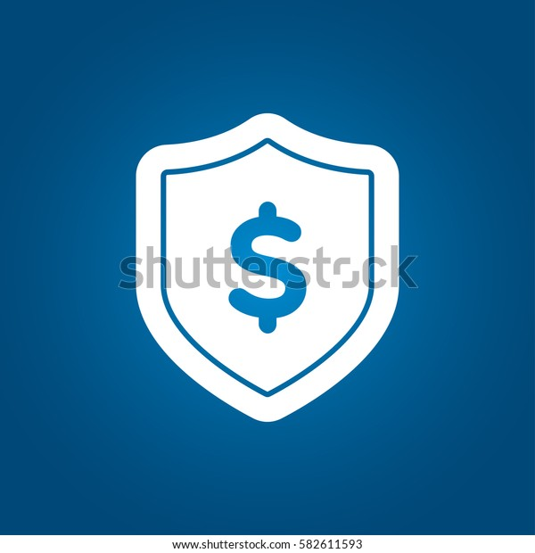Shield with dollar icon