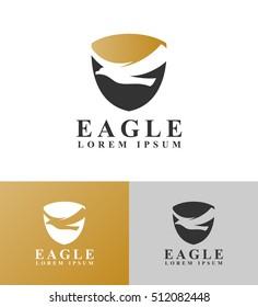 shield with eagle logo