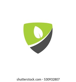 Shield Farm Vector Logo Design Element