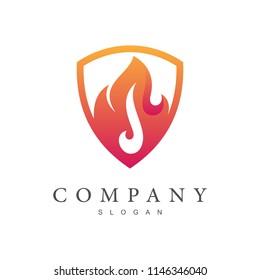 shield fire logo