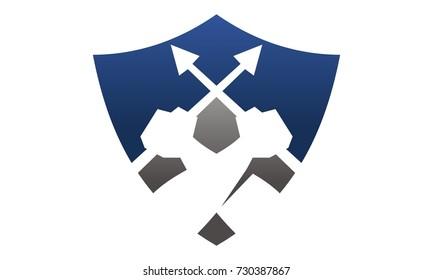 Shield Hand hold lance