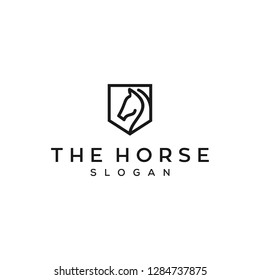 the shield horse logo