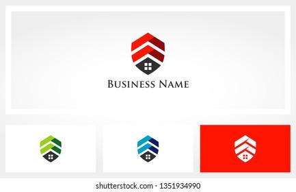 Shield House Chevron Logo