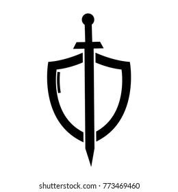 Sword Logo Images, Stock Photos & Vectors   Shutterstock
