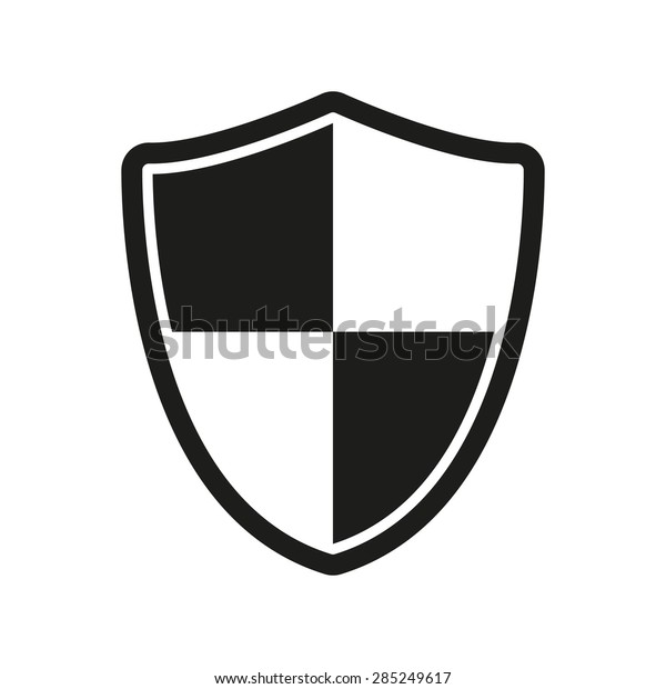 Shield Icon Security Safety Firewall Symbol Stock Vector