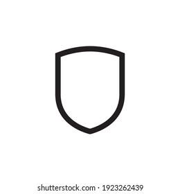 shield icon symbol sign vector