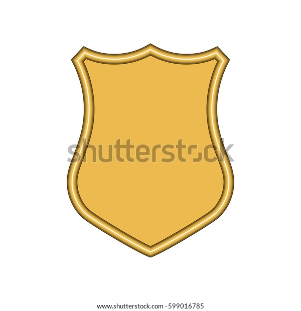 Shield Icon in trendy flat style isolated on white background. Herald logo and Shield symbol for your web site design, logo, app, UI. Vector illustration, EPS10.