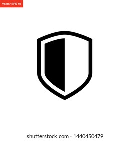 shield icon vector design template