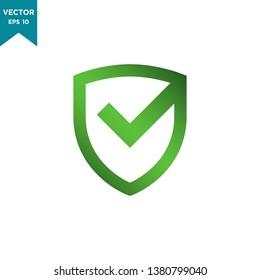 shield icon vector logo template