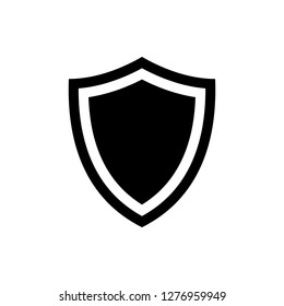 Shield icon vector. Protection icon vector. Security vector icon