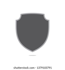 Shield icon. Vector shield icon. Protection icon vector. Shield Icon in trendy flat style isolated on white background. Shield symbol for your web site design, logo, app, UI. Vector illustration.