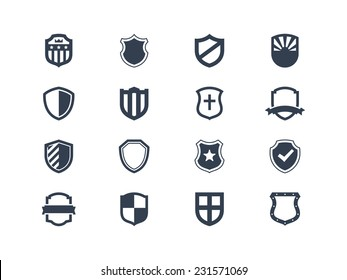 Shield icons