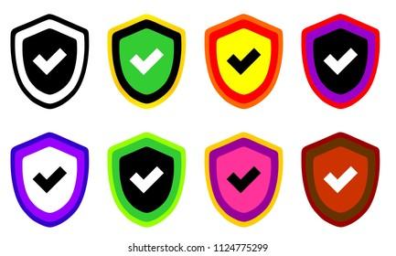 Shield Illustration Vector