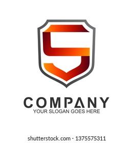 Shield Letter S Logo