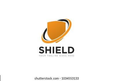 shield logo and shield icon Vector design Template. Vector Illustrator Eps.10