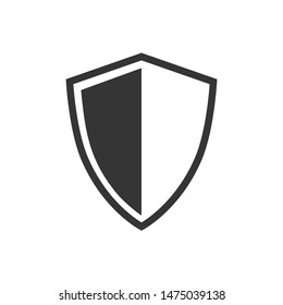 Shield Logo Icon Vector Illustration