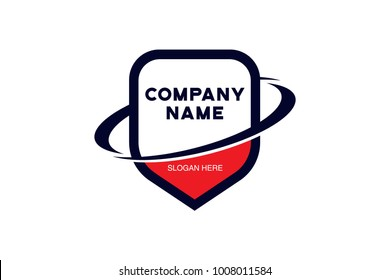 shield logo vector EPS file