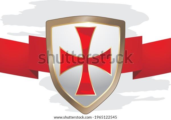 shield-maltese-cross-sign-design-600w-19