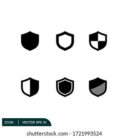 shield protection icon illustration vector eps 10