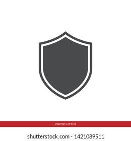 Shield Protection Icon Vector Illustration - Vector
