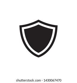 shield protection icon vector illustration