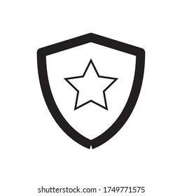Shield Protection Icon Vector Illustration Design