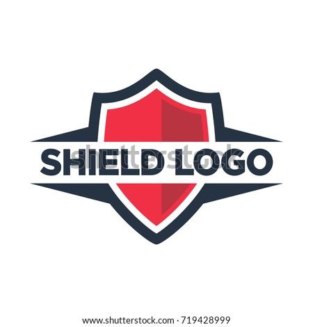 Shield Symbol Security Company Stock Vector Royalty Free 719428999