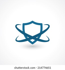 shield. symbol of security. vector eps10