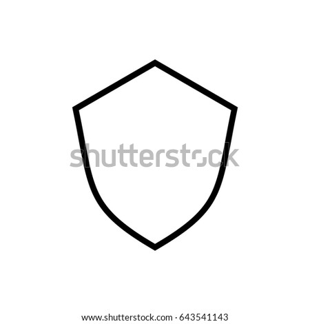 shield template ii stock vector royalty free 643541143 shutterstock